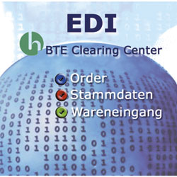 EDI mit dem BTE Clearing Center